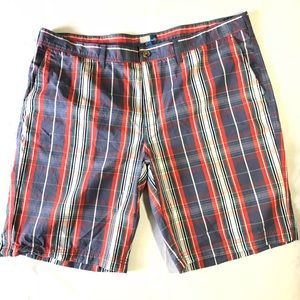14th & Union Madras Plaid shorts 42 XL